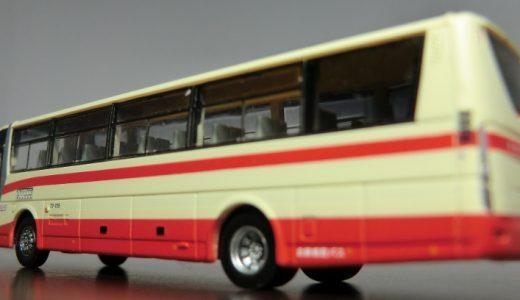 北鉄能登バスの『あさいち号』!BKG-代のエアロエースがバスコレ化!