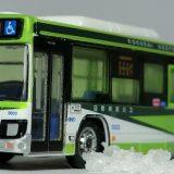 国際興業バスの新型エルガに安全祈願を執り行いました! バスコレ