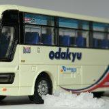 小田急箱根高速バスのエアロバスに安全祈願を執り行いました! バスコレ