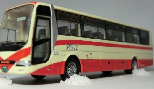 北鉄能登バスのエアロエースに安全祈願を執り行いました! バスコレ