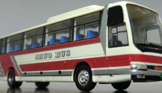 日本の最北端で頑張っている中央バスのエアロエースくん! バスコレ