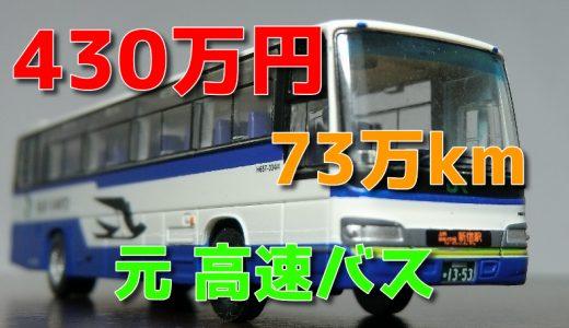 中古バス購入!?車種は2003年式の【日野セレガR】 バスコレ