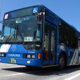 沖縄のバスは種類が豊富!中古の神奈川中央交通の日野KV234N1を発見