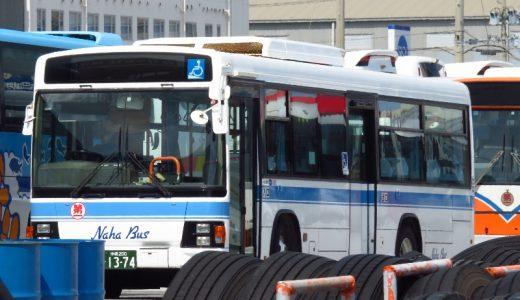 【那覇バス】市内線に新たに導入された「13-74」! J BUS
