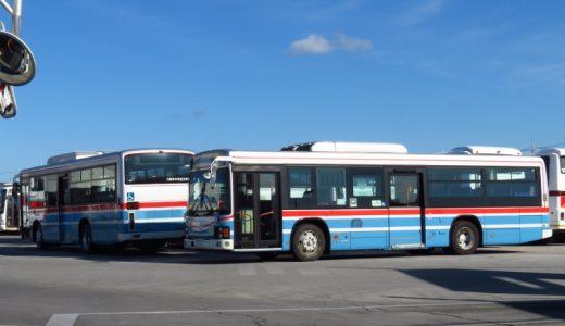 【京浜急行バス】大森所属「M1714」や鎌倉所属「C1719」が沖縄上陸!