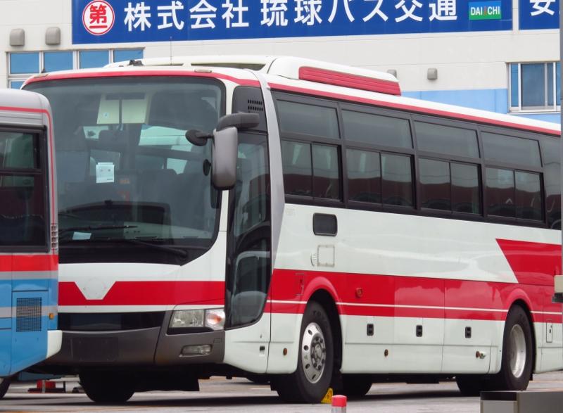 京浜急行バス K5807 沖縄 エアロエース 廃車