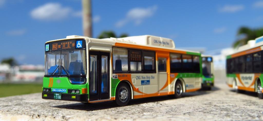 KL-MP37JK改 バスコレ N-L120 都バス