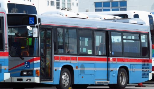 京浜急行バスにたった2台だけ所属していた【Y3744】が沖縄にやって来た!