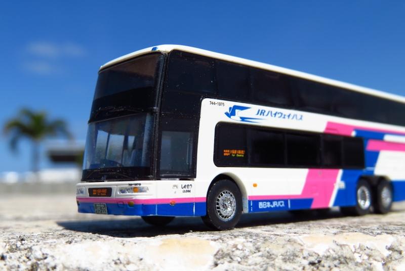 2001年式 ふそう2階建てバス