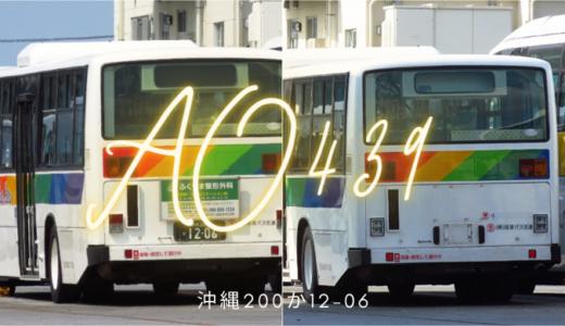 【琉球バス】ありがとう、さようなら。1台だけの特別なブルーリボンシティが廃車に
