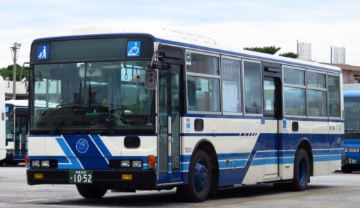 【バスコレ】沖バス創立70周年2台セットが発売!|エアロスターやミディをレビュー
