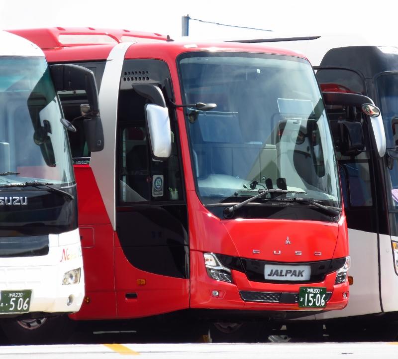 那覇バスのエアロエース
