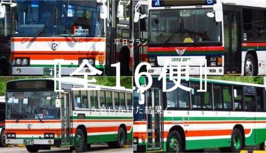 もと岩槻所属の【9791】が城間線を担当!運行時間帯を大公開+全16便の車両構成を調査