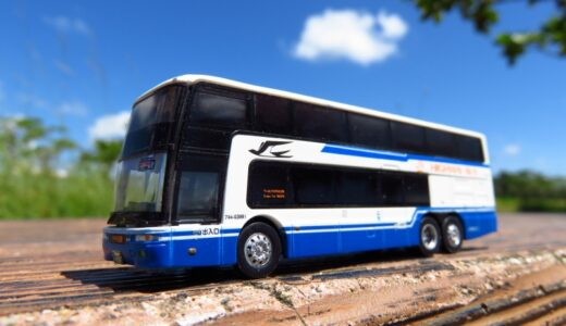 260万km以上地球を走り抜いた【エアロキング】がバスコレに!|JR東海バス
